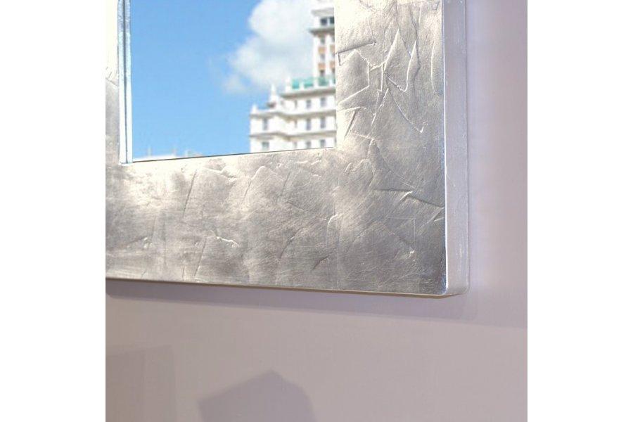 Consola recibidor espejo blanco y oro emilio rubio - Espejo marco blanco ...