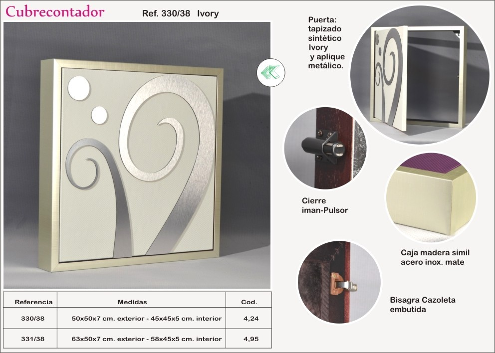 Precio contador de luz cheap caja contador monofsico fuera normativa with precio contador de - Tapa contador luz ...