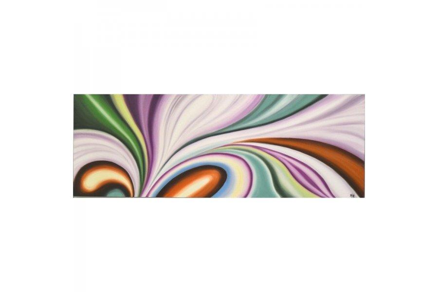 Cuadro oleo cintas color emilio rubio - Cuadros sin marco ...