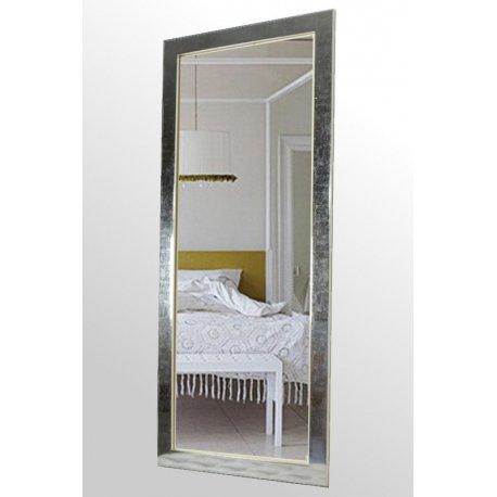 Espejo marco plata brillo emilio rubio - Espejos marco plateado ...