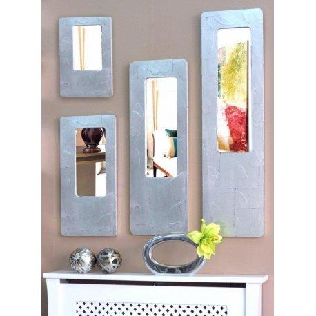 Espejo con marco plateado - Espejos marco plateado ...