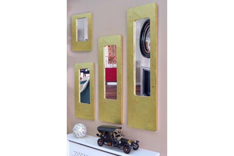 Espejo marco dorado for Espejo marco dorado
