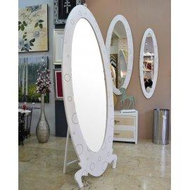Espejo Vestidor blanco Burbujas