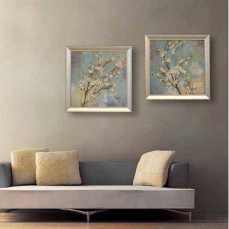 Flor de Kioto set dos cuadros