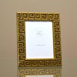 Marco portafotos GRECA dorado