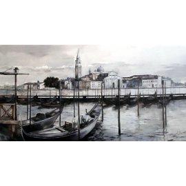 Cuadro con paisaje de Venecia II