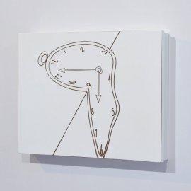 Cubre contador blanco Reloj Dalí