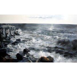 Cuadro paisaje marino II
