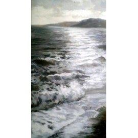 Cuadro paisaje marino IV