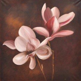Cuadro con magnolias I