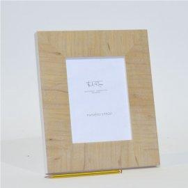 Marco para fotos Chapa de madera natural