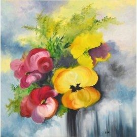 Cuadro con flores I