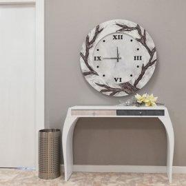 Reloj y Consola Recibidor