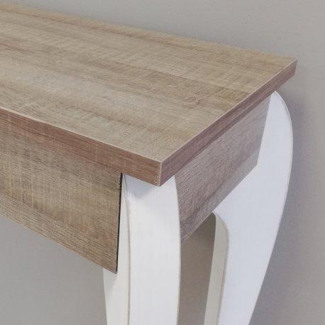 Mueble entrada símil madera Fresno Gris