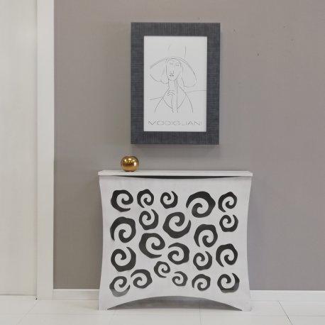 Cubre radiador Blanco Decapé Espirales