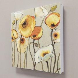 Tapa contador Flores amarillas