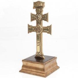 Cruz de Caravaca Peana Dorada