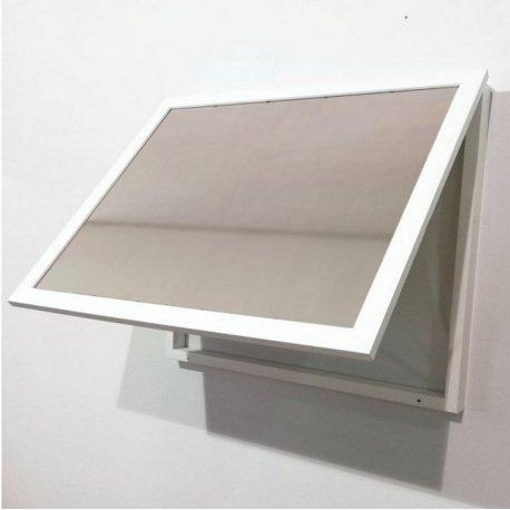Cubre contador blanco con espejos