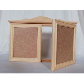 Caja cubrecontador en madera natural para pintar en casa