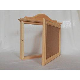 Cubre contador en madera natural para pintar en casa