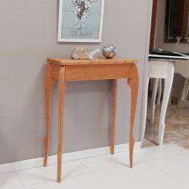 Consola tamaño pequeño en madera natural