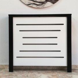 Cubrerradiador Blanco y Negro