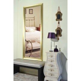 Espejo con marco oro rozado