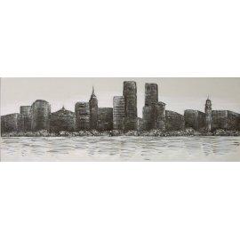 NEW YORK OLEO Y ACRILICO
