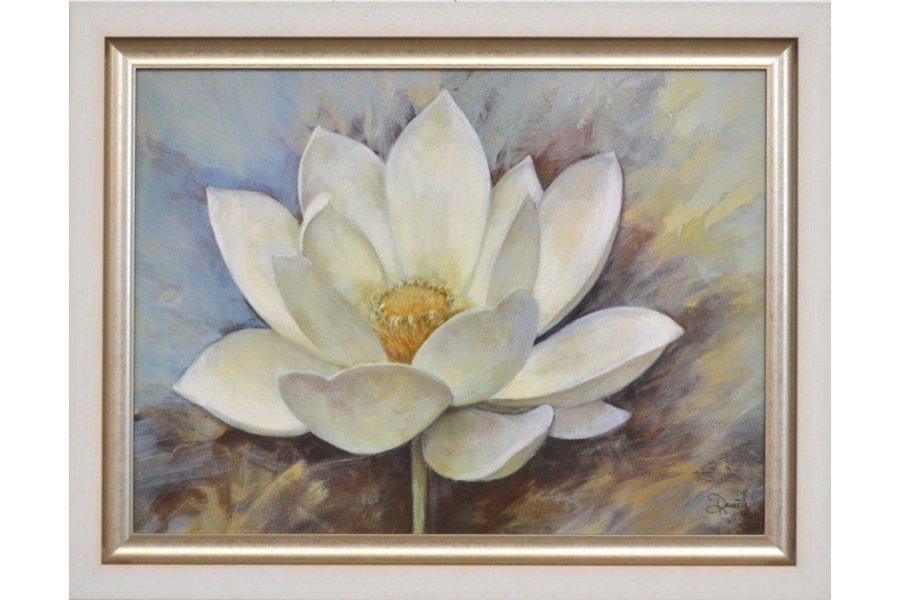 Set dos cuadros marco blanco plata emilio rubio Marcos de cuadros blancos