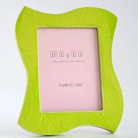 Marco Portafotos verde limón