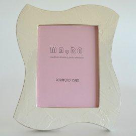 Portafotos moderno Marfil