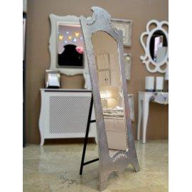 Espejo vestidor clásico plata cuarteada