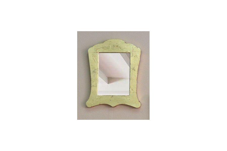 Espejo cl sico marco dorado emilio rubio for Espejo marco dorado