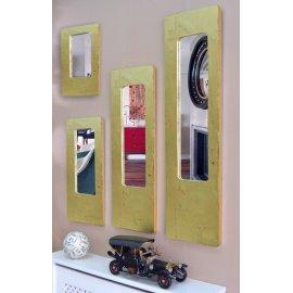 Espejo U marco dorado