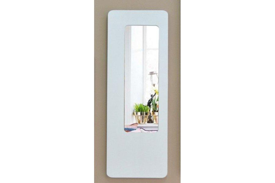 Espejo con marco blanco decap for Espejo grande blanco