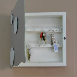 Caja llaves aluminio acero