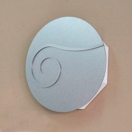 Caja llaves circulo aluminio acero