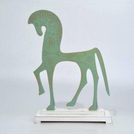 Caballo Griego - Verde oxido